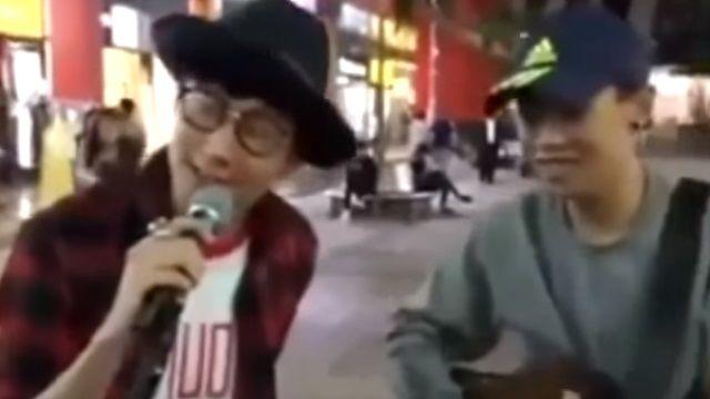 街頭助唱遭網友檢舉 林俊傑:只想鼓勵人