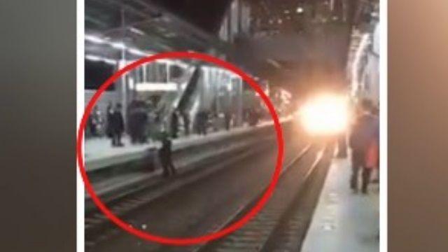 「醉」誇張! 2男月台打架 掉鐵軌釀誤點