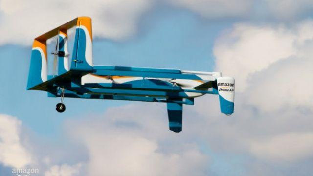 30分鐘到貨! 亞馬遜新型無人機宅配到府