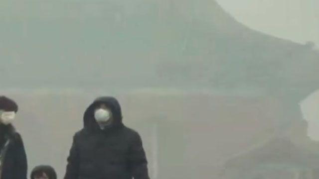 北京霧茫茫!故宮、央視如人間「險境」