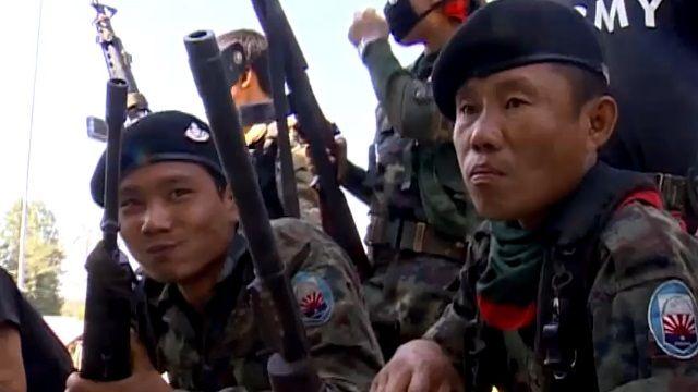前進反抗軍大本營 泰緬邊境的戰後孤島
