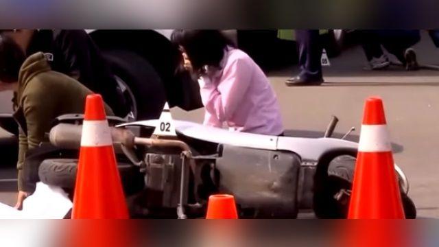 66歲婦遭公車輾斃 家屬痛哭 女駕駛崩潰