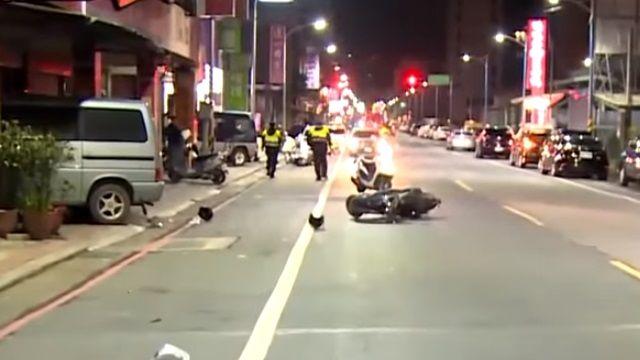 騎機車如皮包鐵 兩個擦撞19歲騎士魂斷