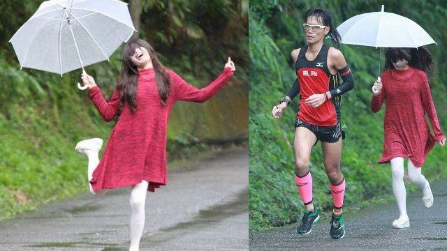 紅衣女孩在你後面...最驚悚馬拉松開跑