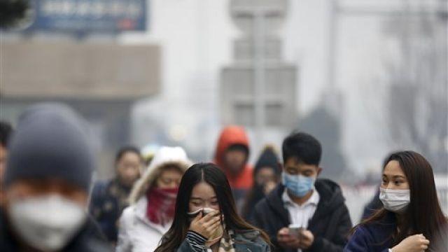 霧霾再鎖北京城! 首次發布「紅色」警戒
