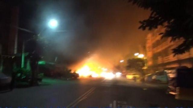 男縱火燒光7宅 因不滿修機車「油被偷」