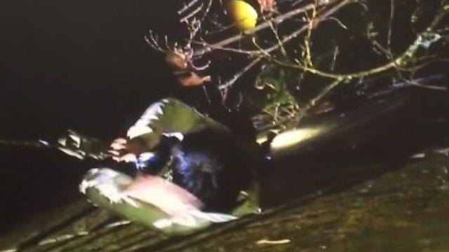 夜景美的讓人忘我?女大生墜6米深溪床
