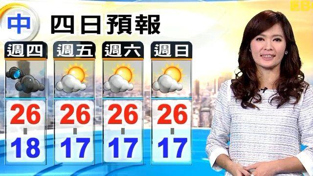 【2015/12/10】下大雨!鋒面對流旺 今小心局部瞬間大雨