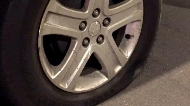 永和刺輪胎怪客出沒 一晚連刺10多輛汽機車