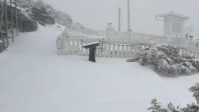 玉山可望周四降雪 創7年來最晚初雪