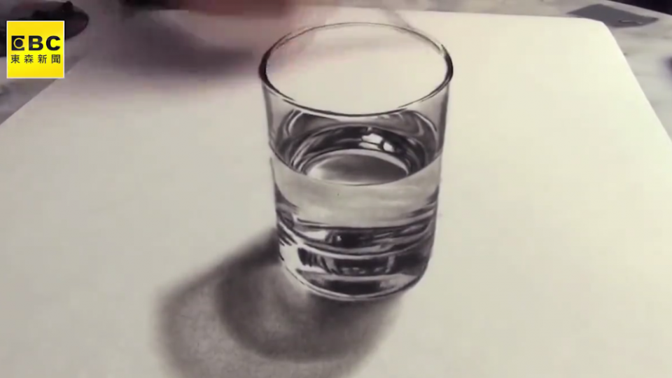 栩栩如生的3D素描 真真假假分不清楚?