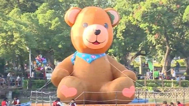 泰迪熊退燒?草悟道換台中公園 人潮稀少