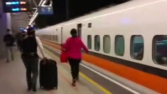等高官不等民眾  高鐵1分鐘靠站就發車