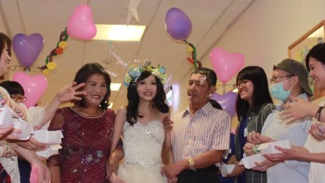 醫院助拍婚紗照圓夢 21歲癌末少女走了