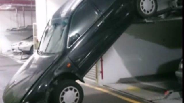 少了這個動作!轎車停機械式「摔車」