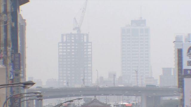 台灣西半部淪陷!PM2.5濃度「紫爆」