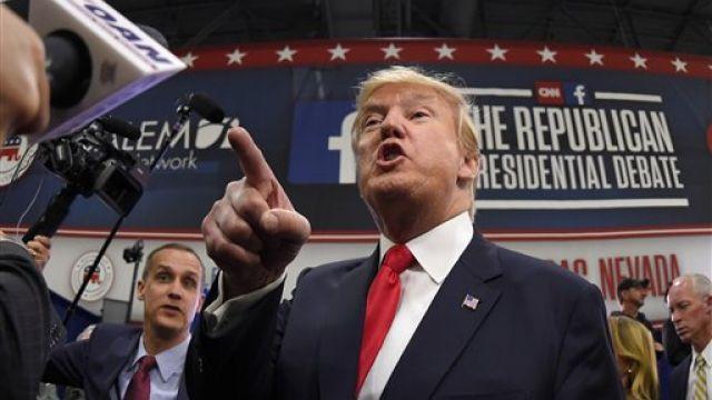 共和黨總統候選再辯論 川普槓上傑布布希