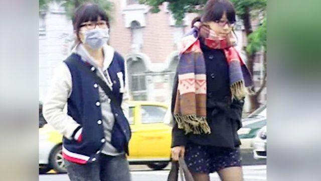 冷氣團夾帶華北霾害 今天全台籠罩