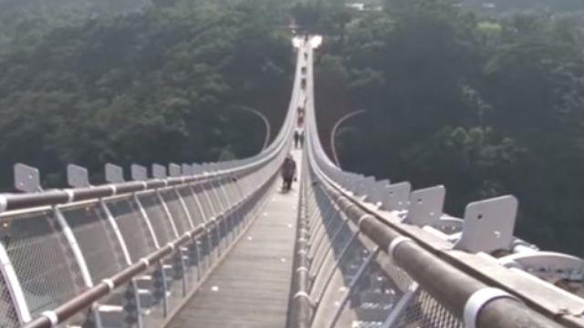 走過會感動!「山川琉璃吊橋」搶先體驗