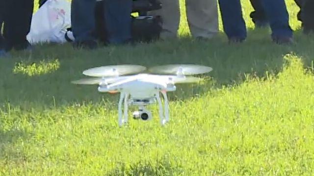 空拍機配「熱顯儀」有利生命及環境探測