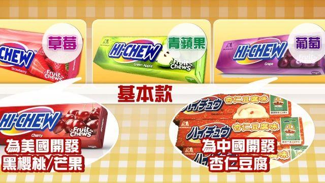 零食商機夯! 日軟糖美熱賣 行銷術揭密