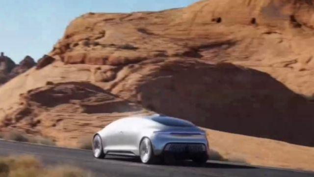 自動駕駛概念「神車」來台 民眾驚呼帥!
