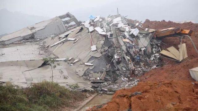 深圳坍方48小時 挖出首位罹難者遺體
