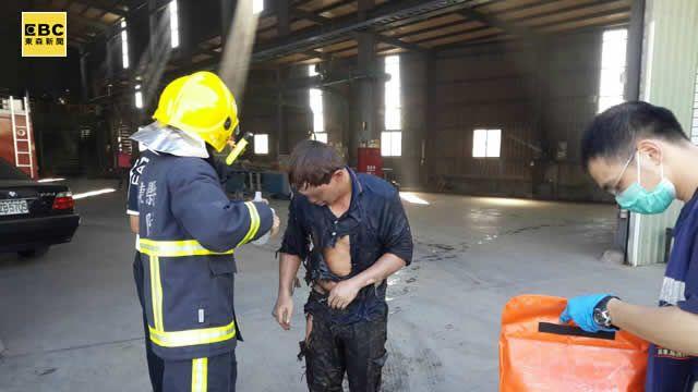 屏東木業廠氧氣管路氣爆 2工人灼傷1人插管