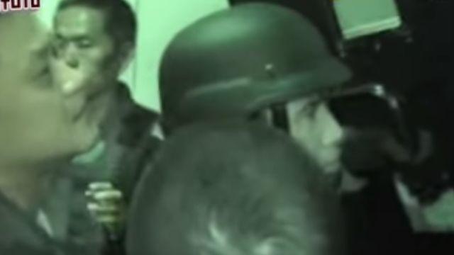 警攻堅喊話「保你周全」林國正情緒激動