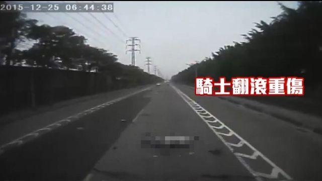 醉騎士自殺式騎車…超中線撞聯結車身亡