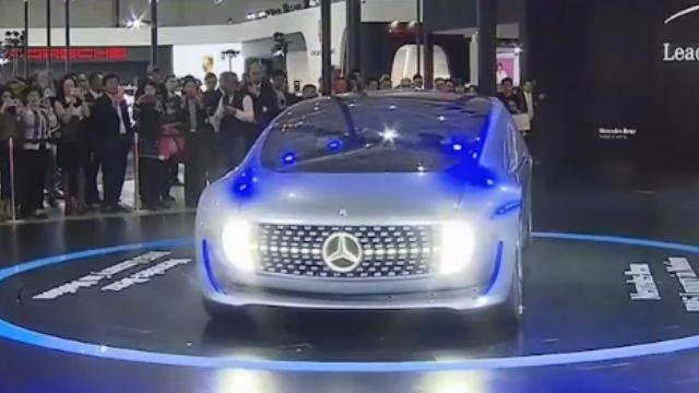 無人車、超跑搶鏡! 台北車展改款新車亮相