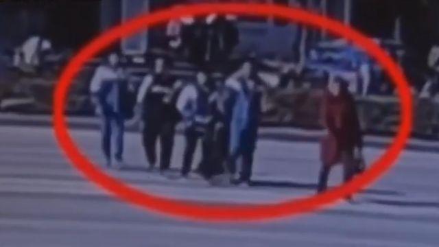 機車失控暴衝 老師為救學生學生遭撞飛