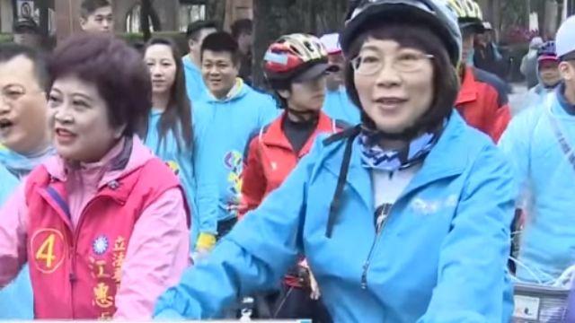 「新北騎進總統府」王如玄早起騎腳踏車
