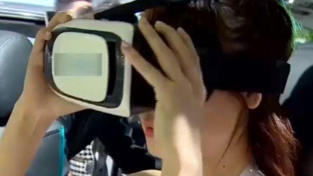 戴頭罩虛擬賞車 隨動作賞360度環景