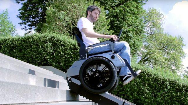 像坦克一樣!樓梯不再是身障者的敵人了