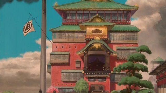 宮崎駿的動畫世界!神隱少女湯屋取景地