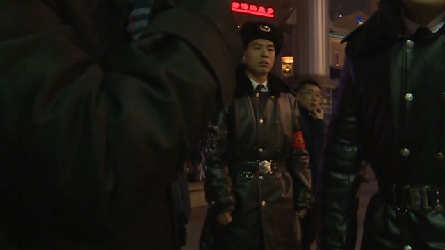 擔心恐攻 北京取消跨年街上只剩警察