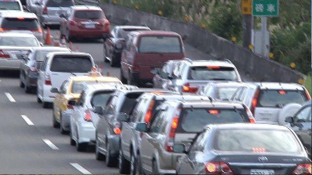 元旦國道車流260萬輛次 午後再現車潮