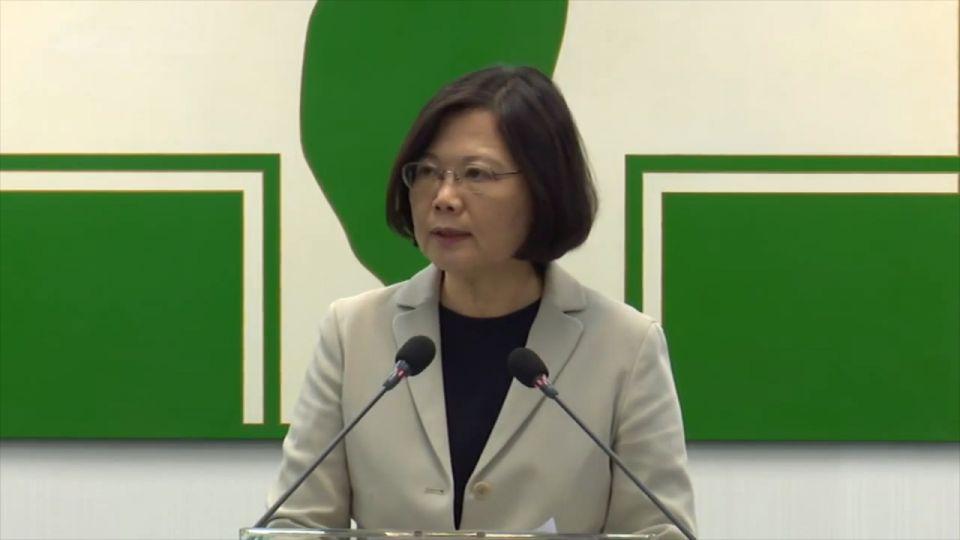 蔡英文5政策!國民黨不是台灣人要的政府