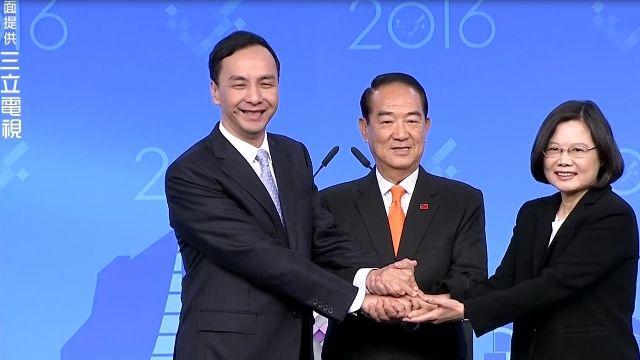 朱立倫6問! 蔡對台灣未來有利?