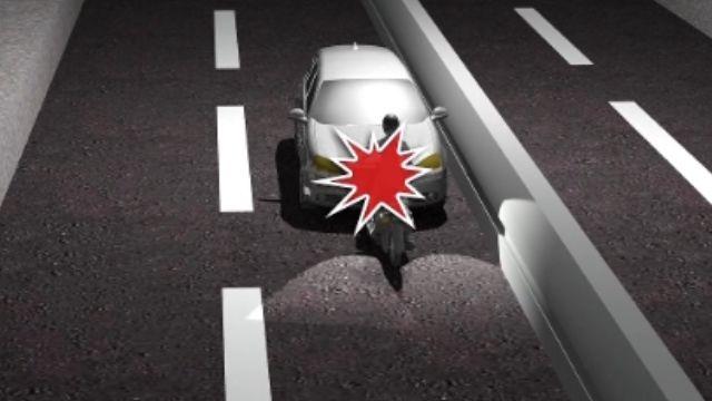 汽機車對撞 逆向騎士爆頭亡