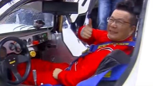 沈玉琳化身賽車手  練習就「閃到腰」