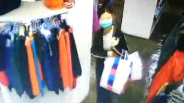 「12樓偷到1樓」提袋掩護 馬尾女連偷10專櫃