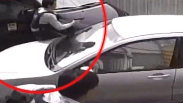 跨年緝毒 專案人員遭兩車夾殺