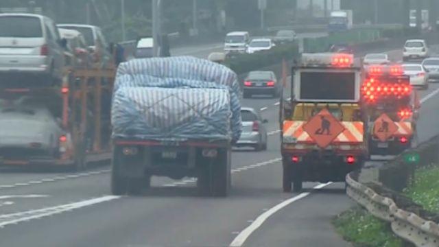 內車道施工未加「防撞器」 工程車釀1死2傷