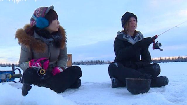 前進阿拉斯加 體驗北極圈冰釣