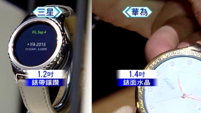 CES展「錶」現奢華! 三星、華為瞄準女性荷包