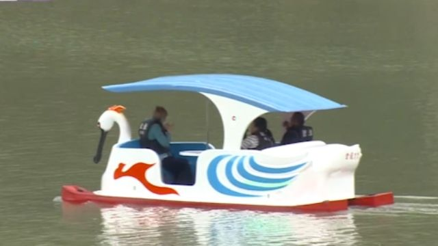這算「無動力」? 新款「電動天鵝船」遊碧潭