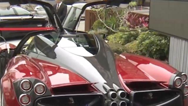 破億超跑Pagani「風神」 驗車領牌超吸睛