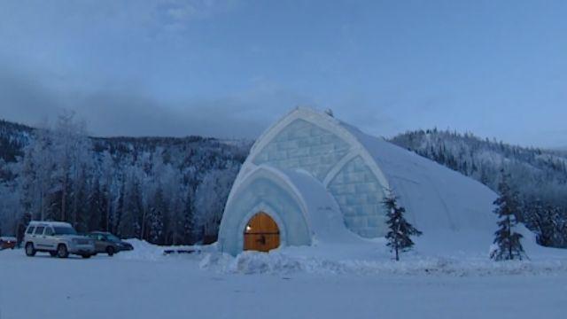 阿拉斯加地熱豐富 冰火美景和諧共存